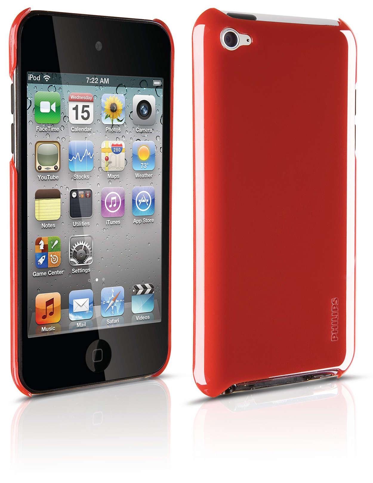 Beskyt din iPod i et robust etui