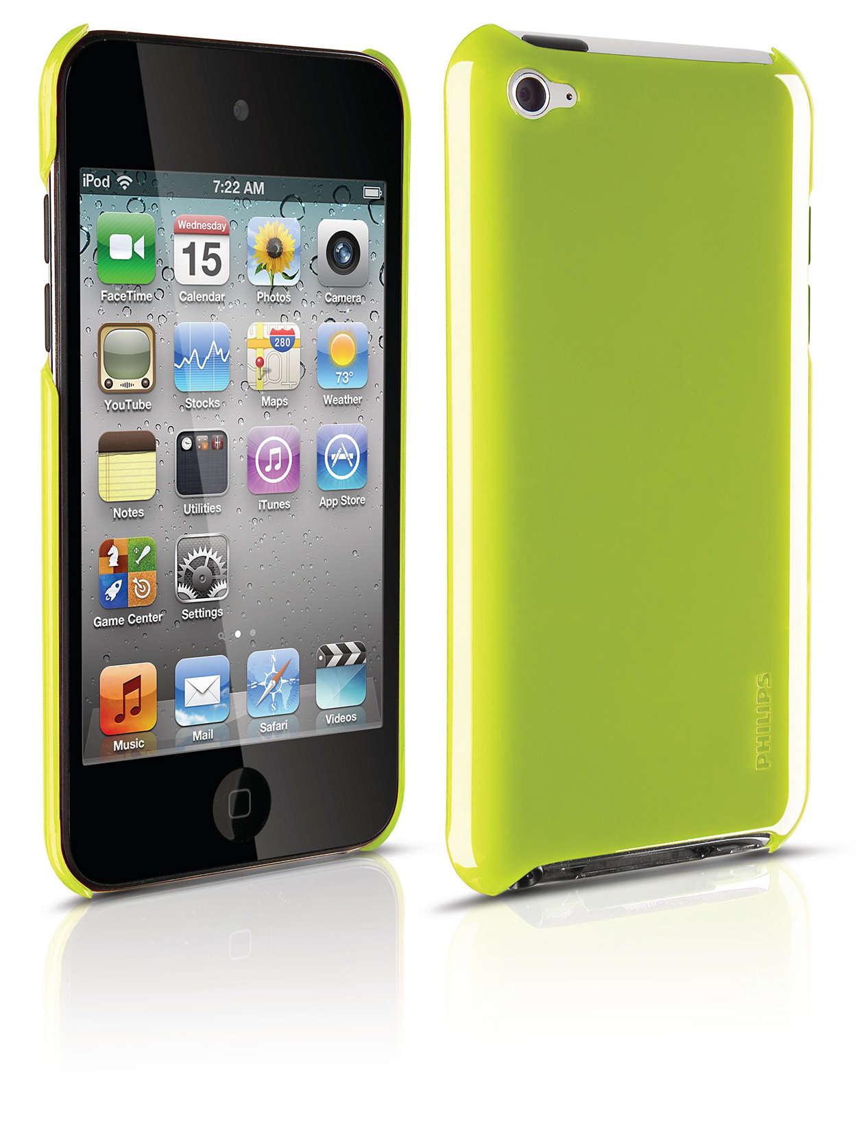 Защитите iPod при помощи жесткого чехла