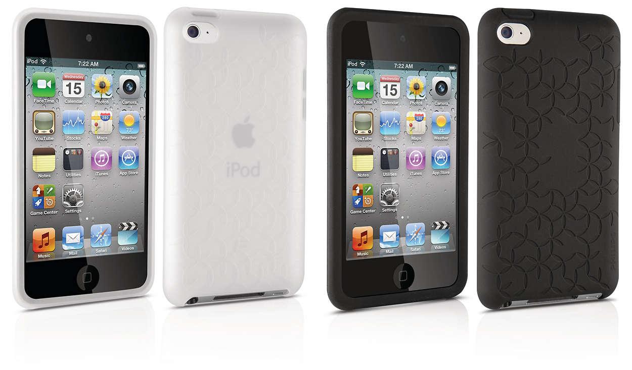 Stilig beskyttelse for iPod-en