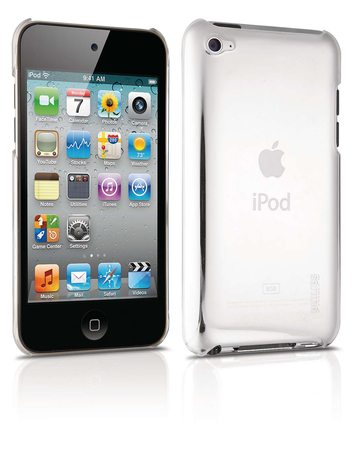 Protect your iPod in a hard-shell case
