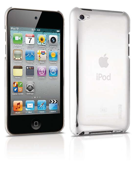 Skydda din iPod i ett hårt skalfodral