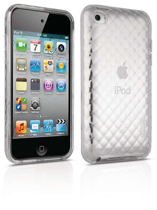 Beskytt iPod i en fleksibel veske