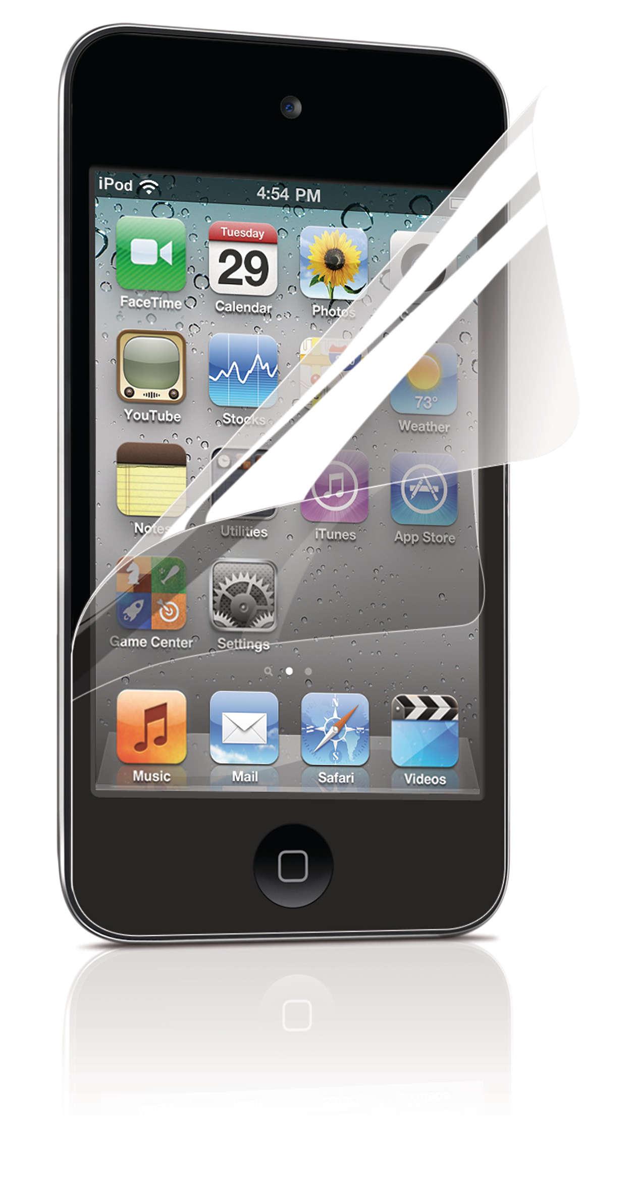 Schützen Sie Ihren iPod-Bildschirm