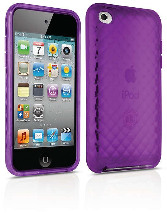 Protege a tu iPod con una funda flexible