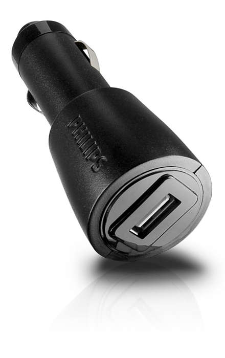 Charge your devices in the car
