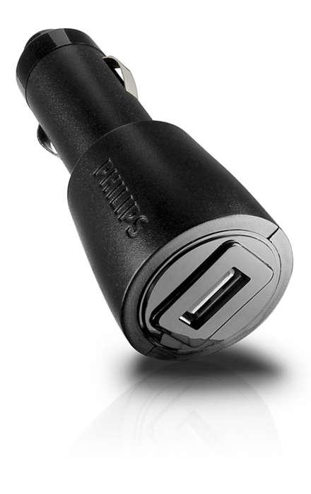 Chargez vos appareils lors de vos déplacements en voiture