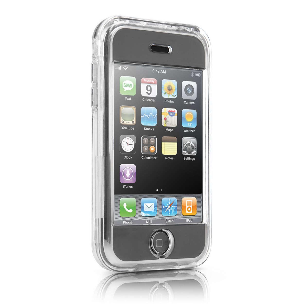 Chraňte svůj iPhone průhledným pouzdrem