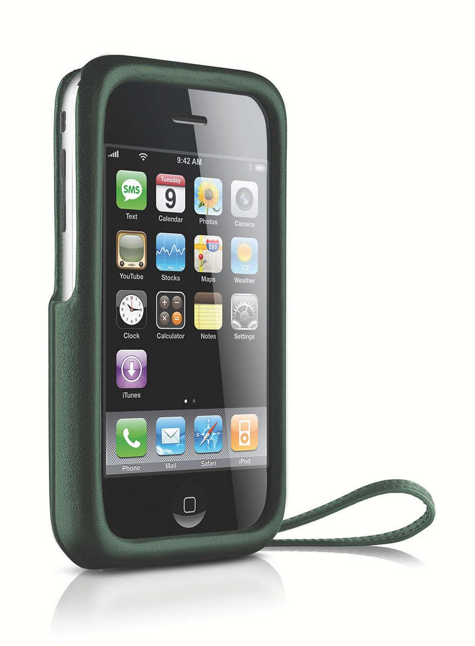 Stylowa ochrona telefonu iPhone