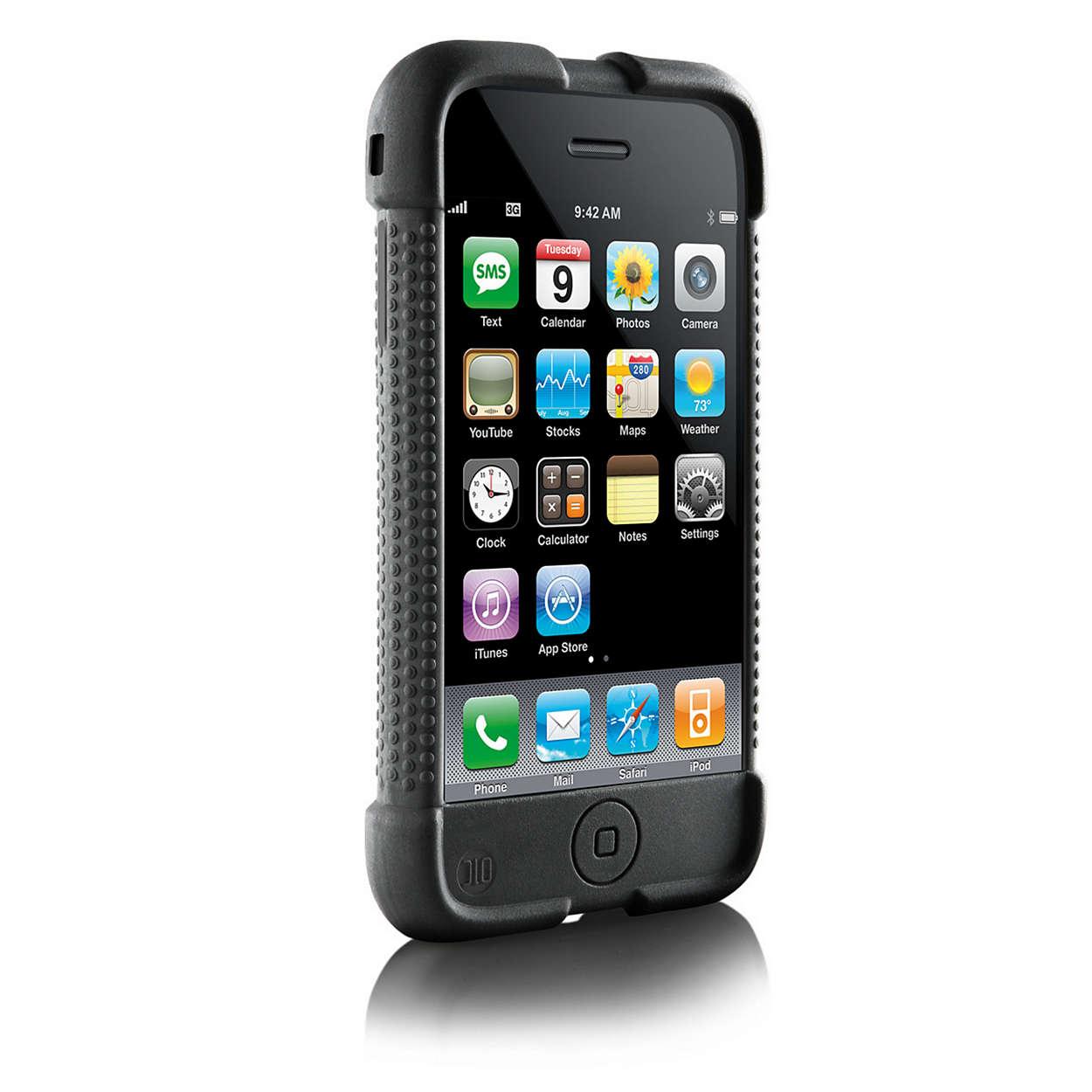 Proteja o seu iPhone com uma maior área para segurar