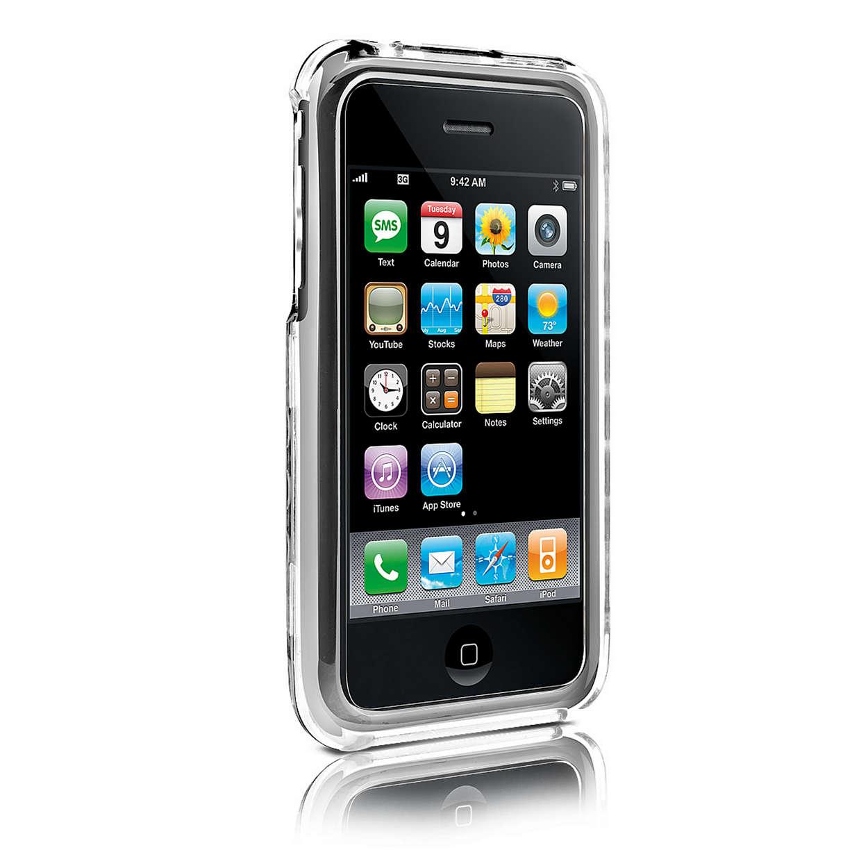 Προστατέψτε το iPhone με ένα διαφανές περίβλημα