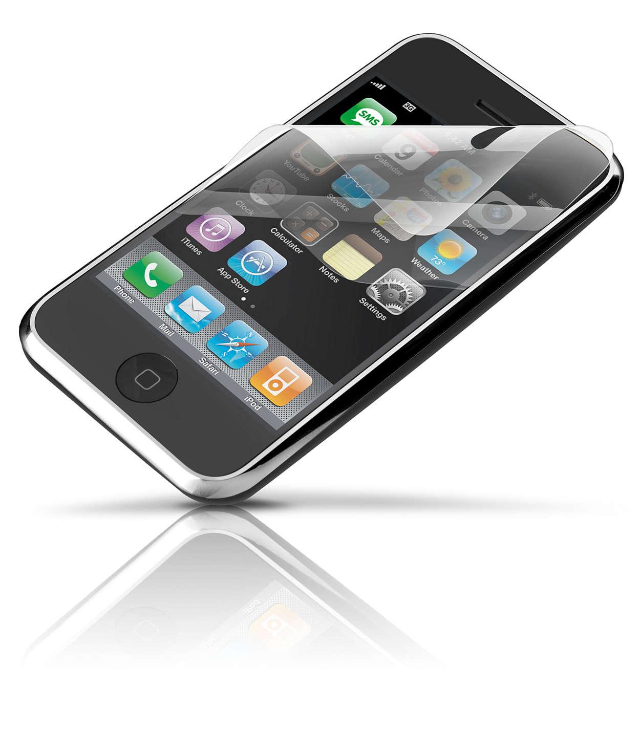Bescherm het scherm van uw iPhone