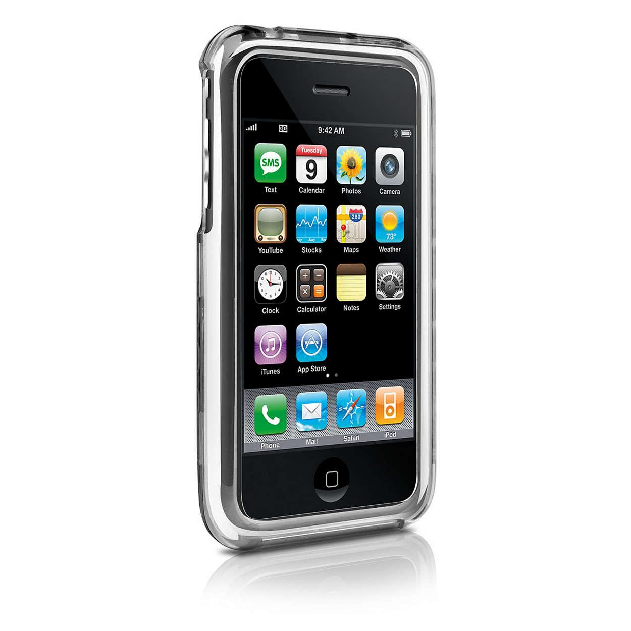 Doorzichtige bescherming voor uw iPhone