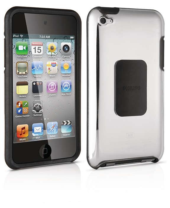 Chraňte svůj iPod pevným pouzdrem