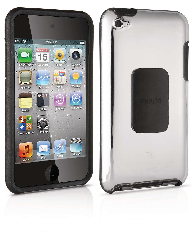 使用硬殼護套保護您的 iPod