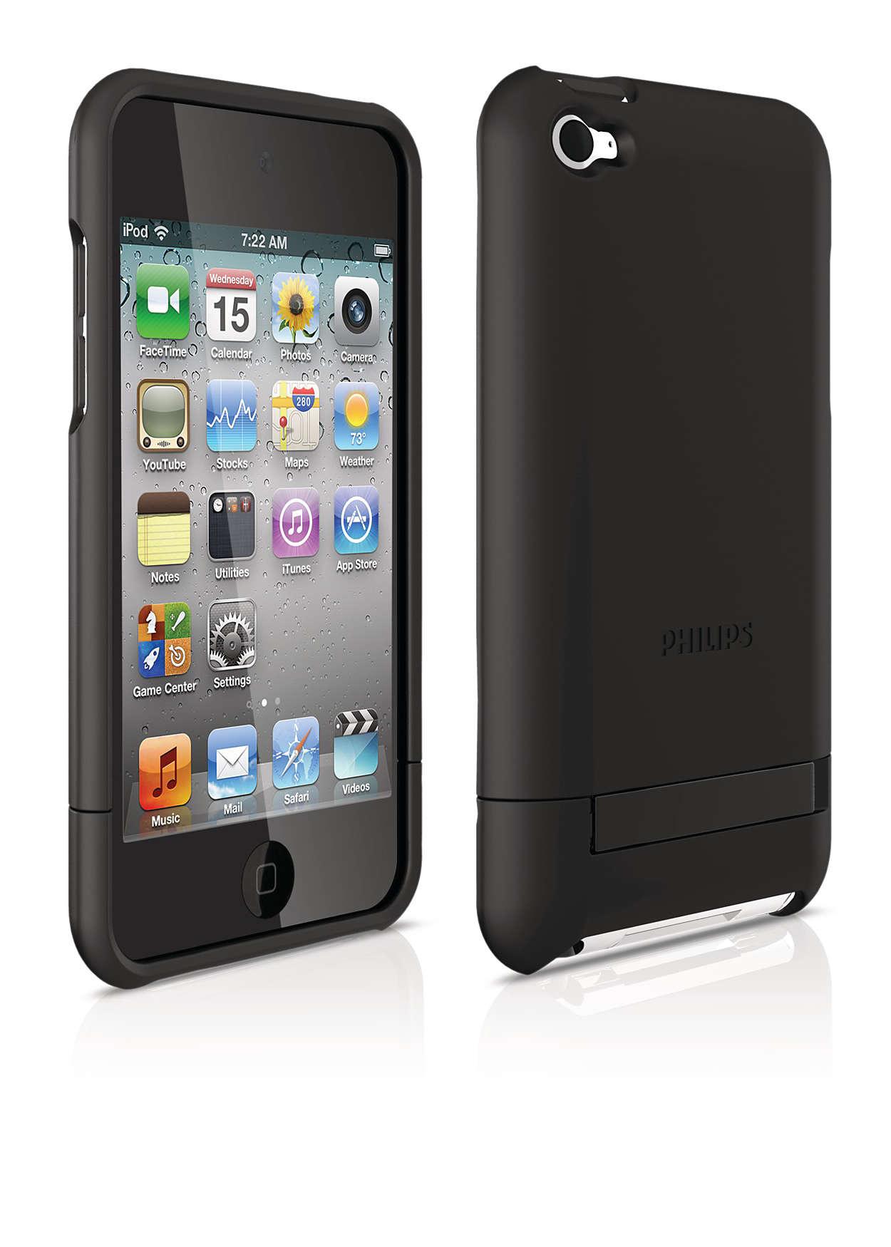 Beskytt iPod-en i et hardt etui