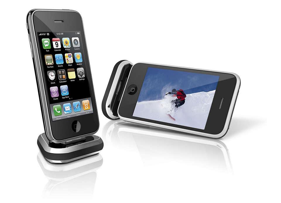 Utilizza e ricarica il tuo dispositivo ovunque