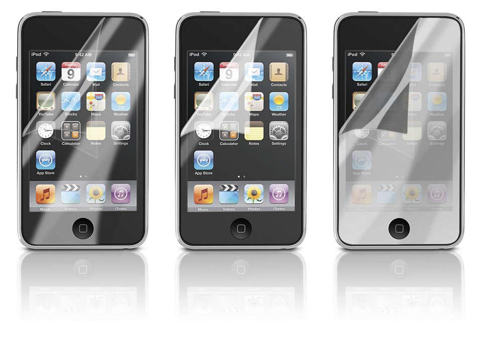 保護你的 iPod 屏幕
