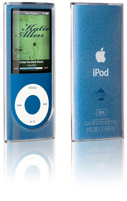 Flexibele beschermhoes voor uw iPod