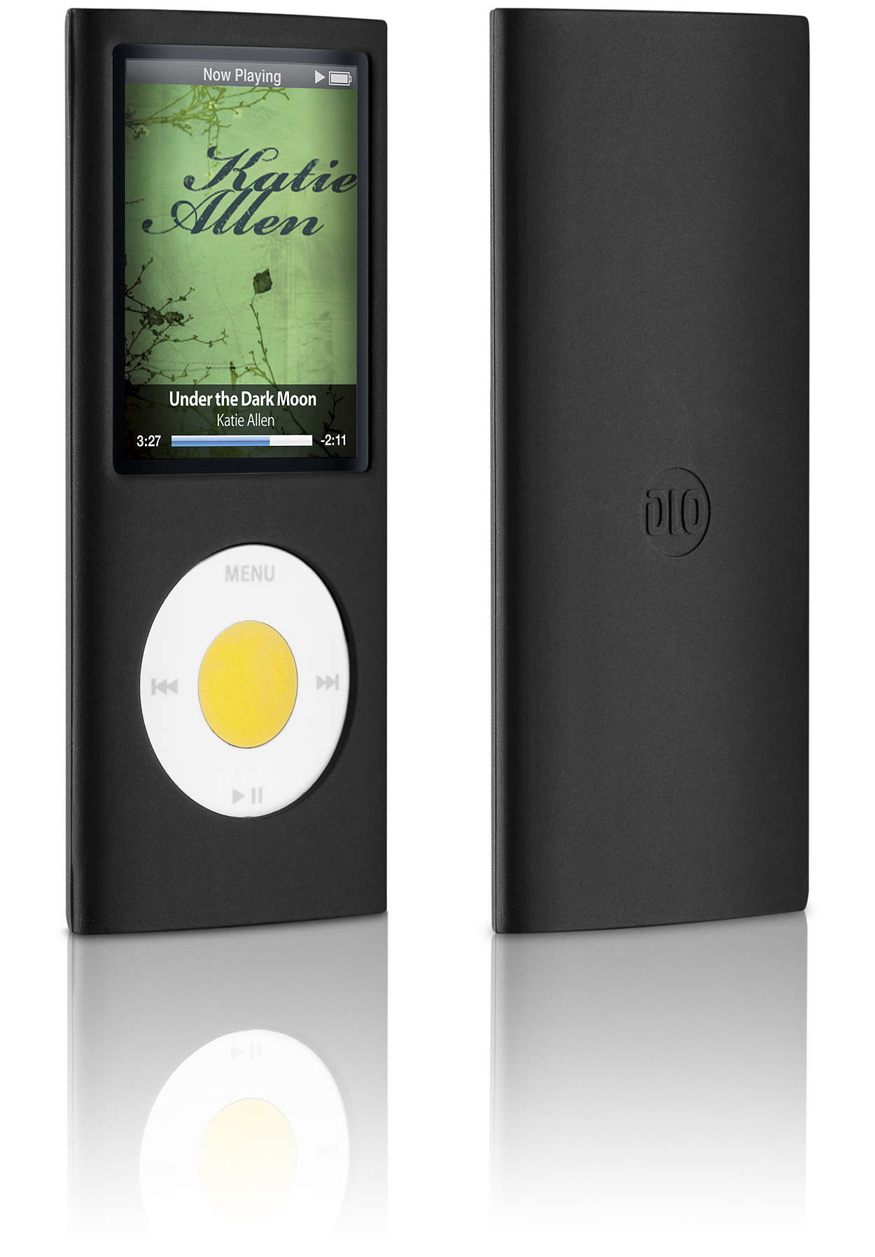 使用矽膠護套保護你的 iPod