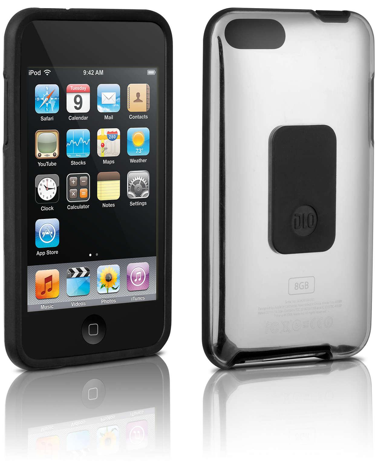 Proteggi il tuo iPod in una custodia rigida