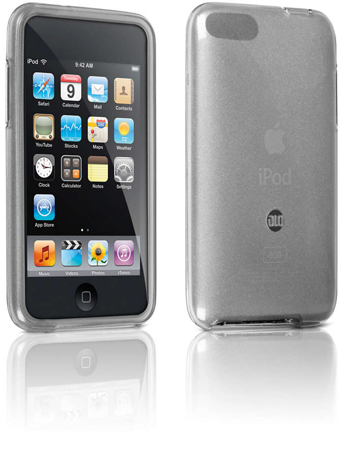 Protect your iPod in a flexible case