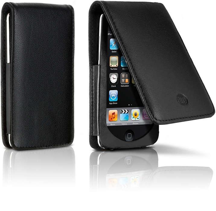 Tragen Sie Ihren iPod mit Eleganz