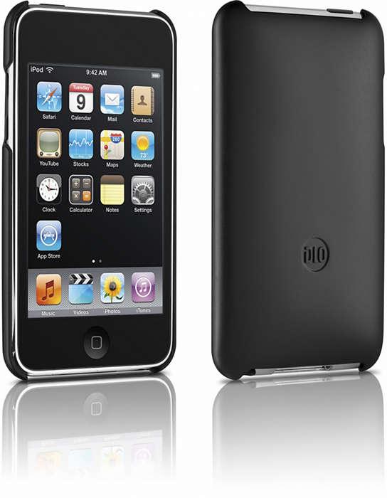 Suojaa iPod kovassa kotelossa