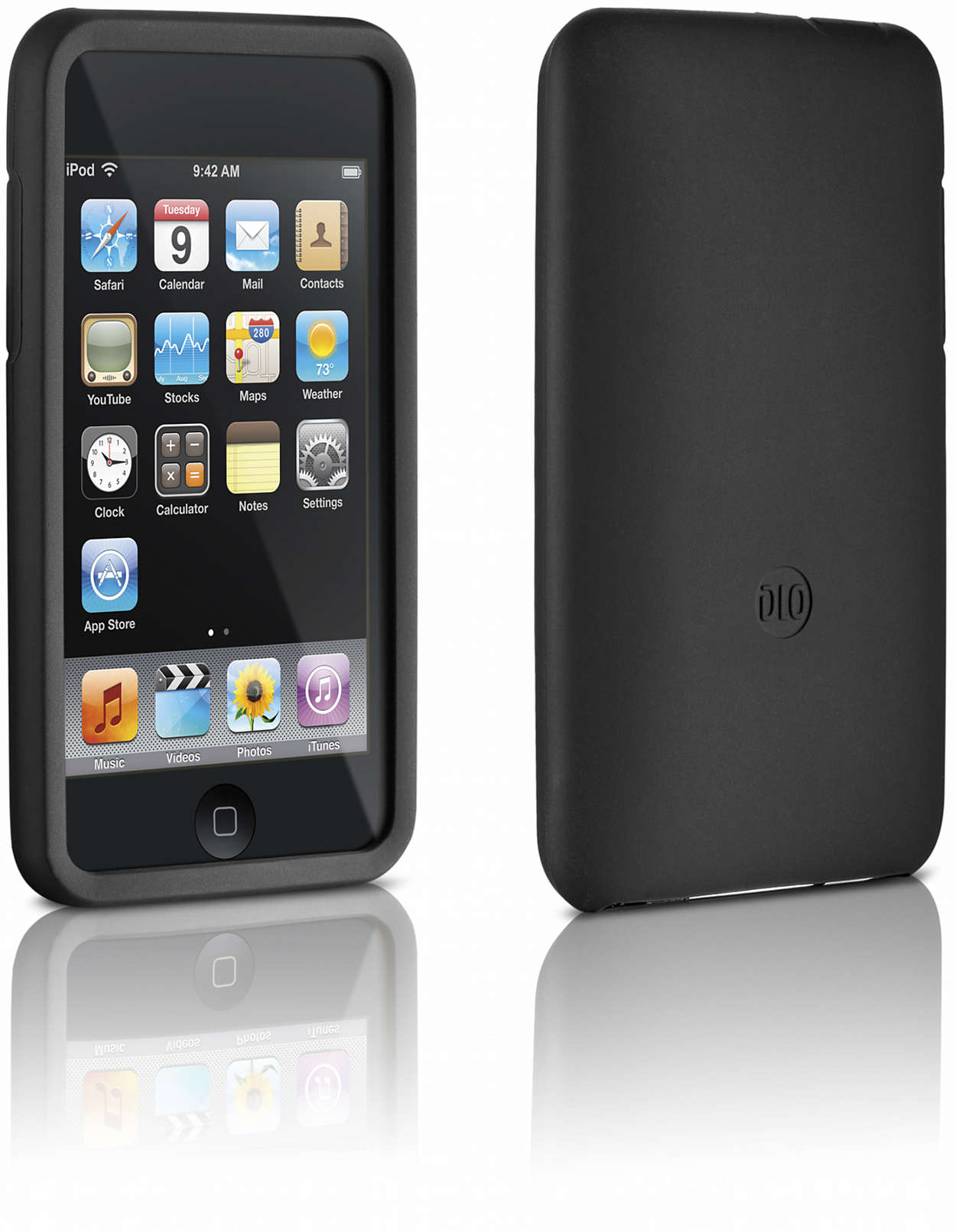 Protect your iPod in a silicone case
