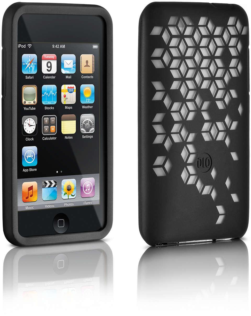 Stijlvolle bescherming voor uw iPod