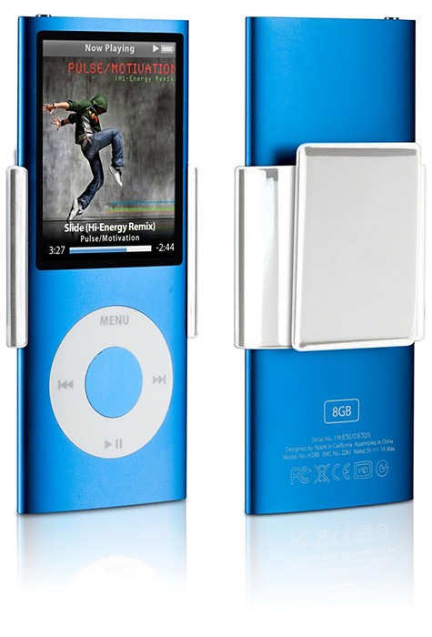 Clip your iPod anywhere