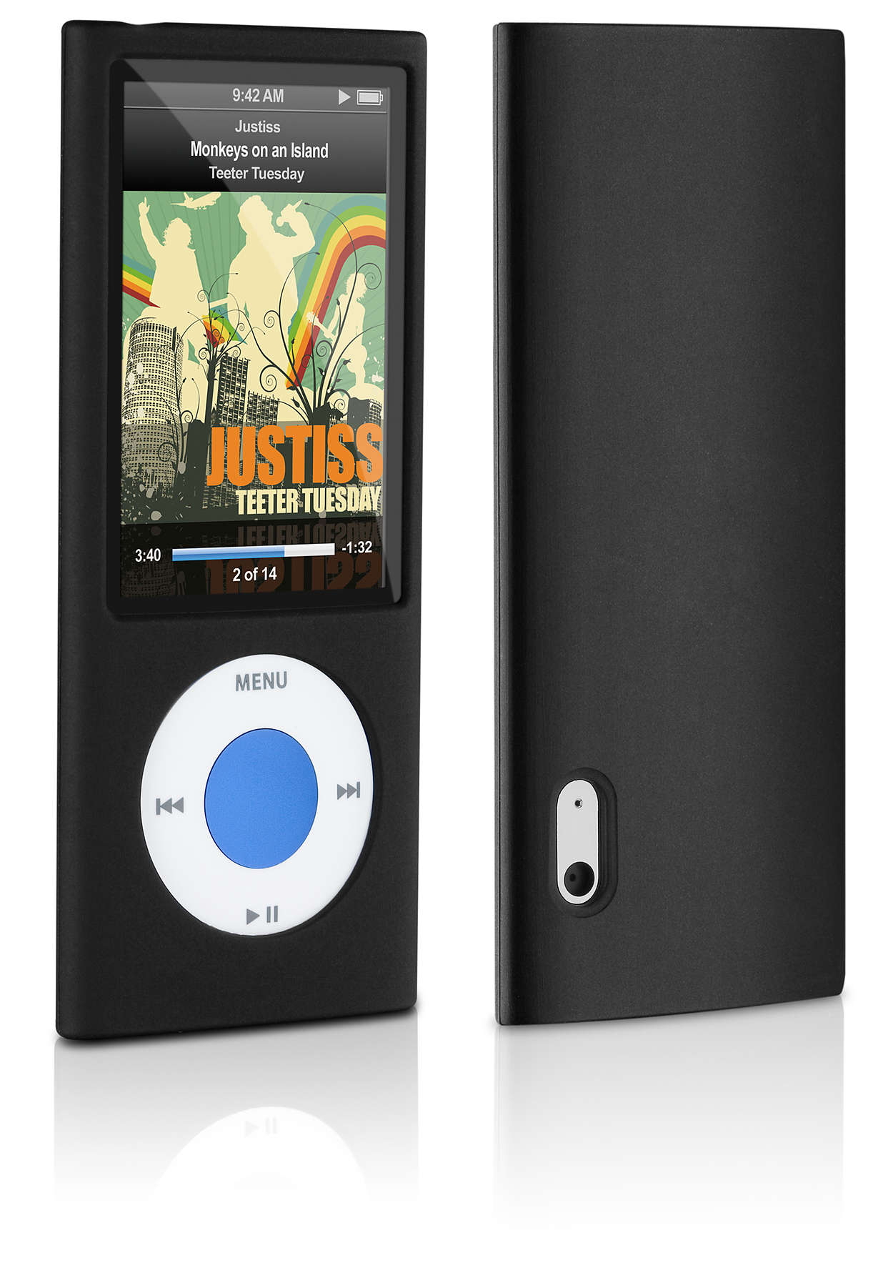 Beskyt din iPod i et silikoneetui