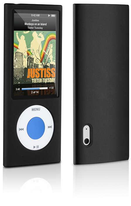 Protégez votre iPod dans un étui en silicone