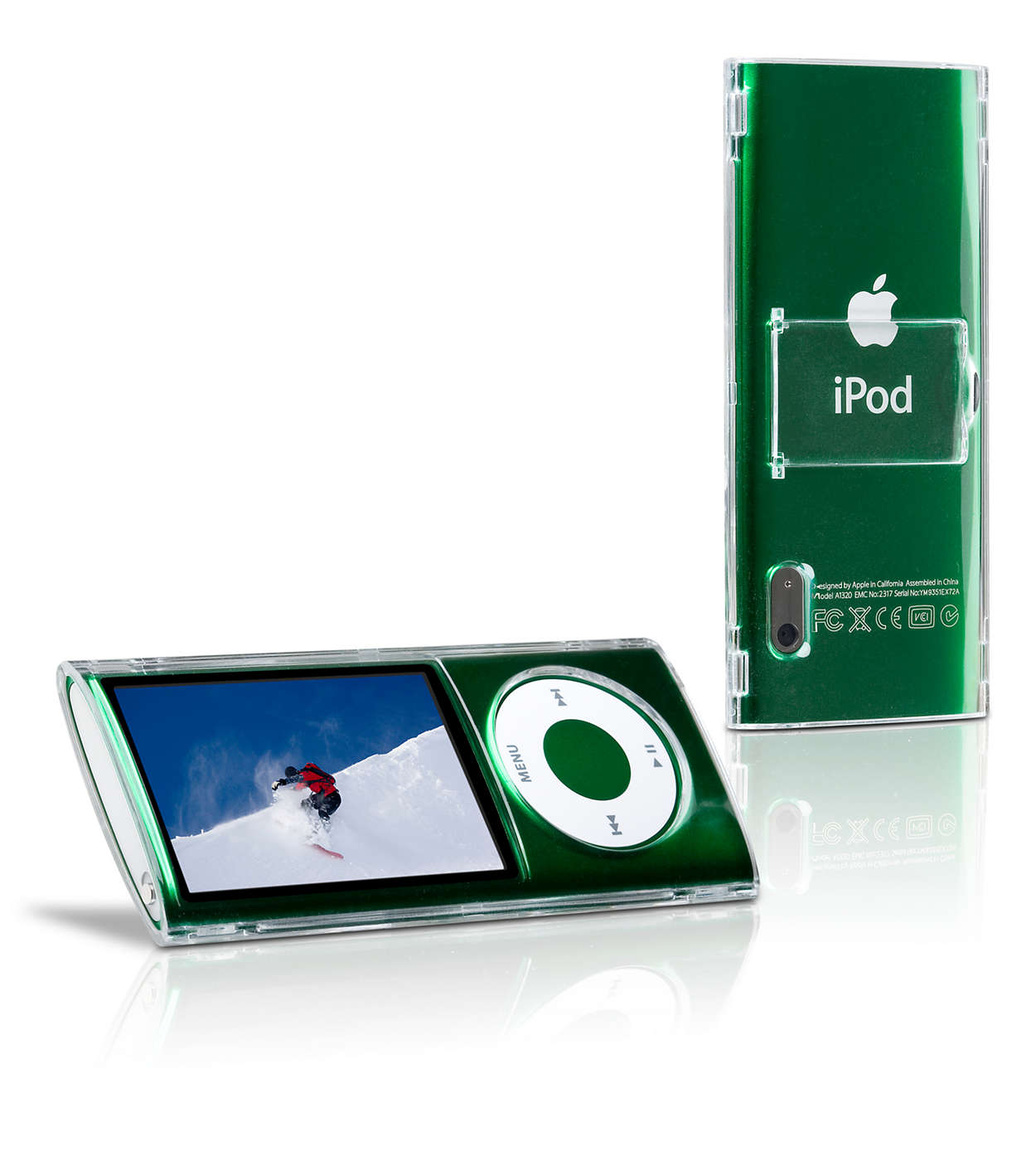 Beskyt din iPod i et klart etui