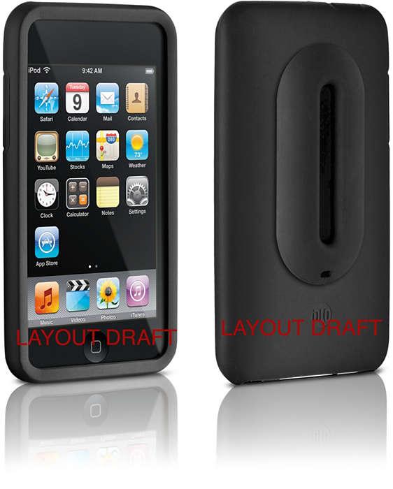 Siliconen beschermhoes voor uw iPod