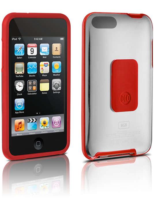 Harde hoes voor bescherming van uw iPod