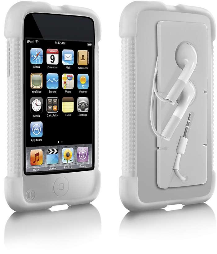 Proteggi il tuo iPod con eleganza