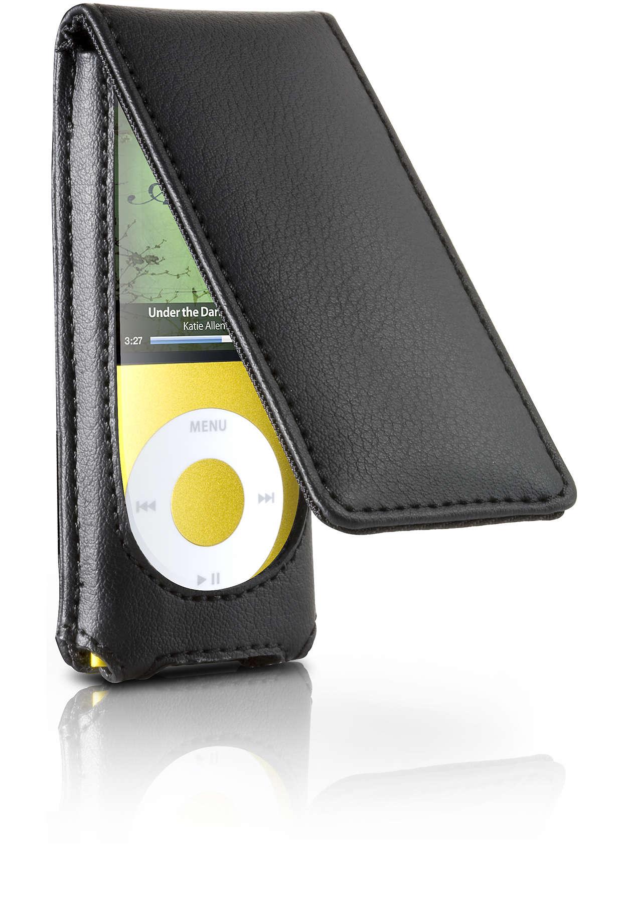 Stílusos tok iPod készülékéhez