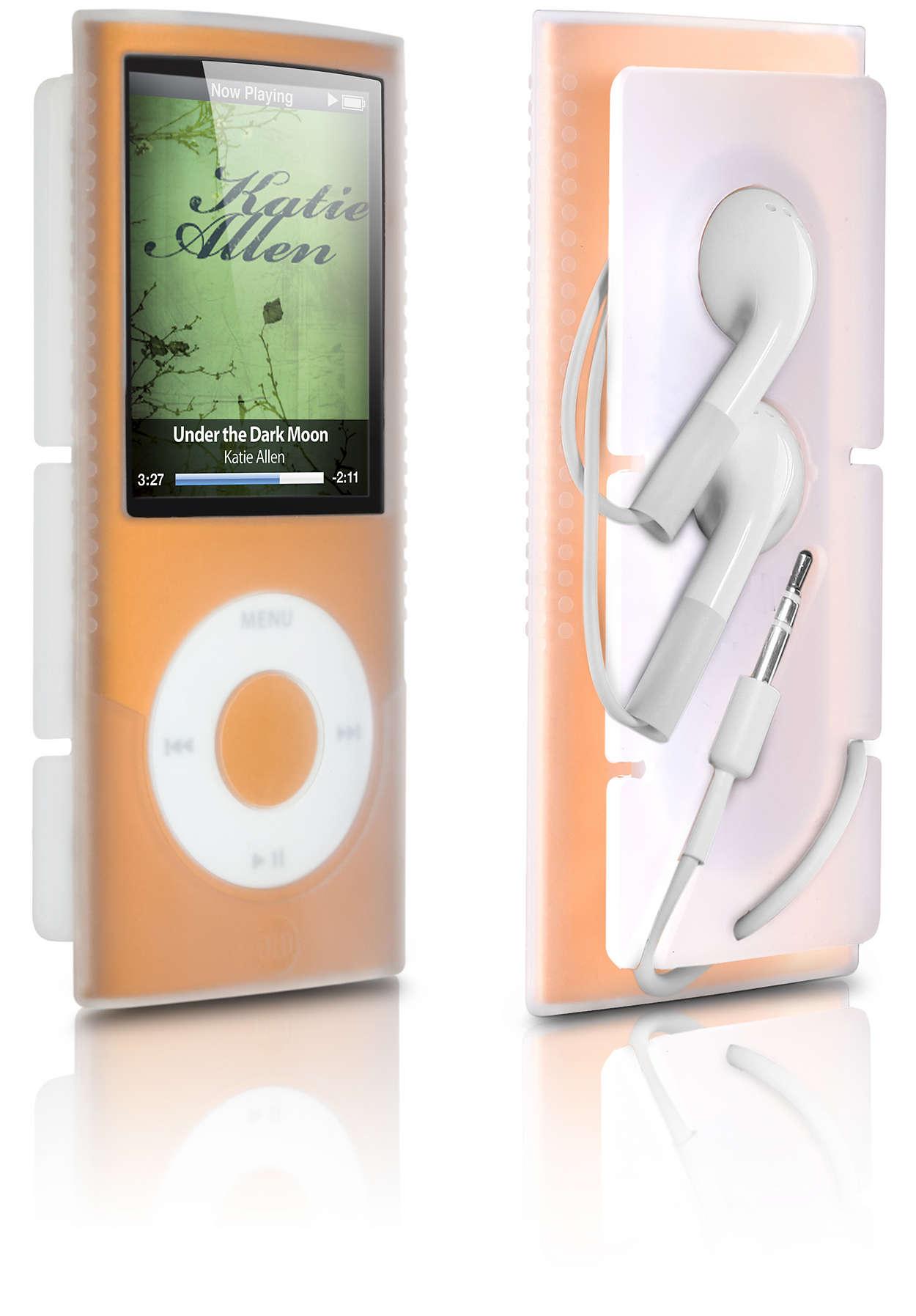 Protejaţi-vă iPod-ul cu stil