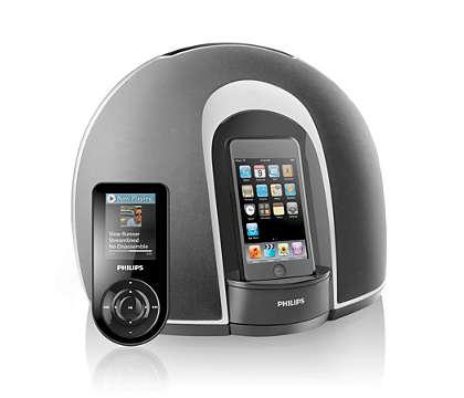 Ascolta il tuo iPod con suono full stereo