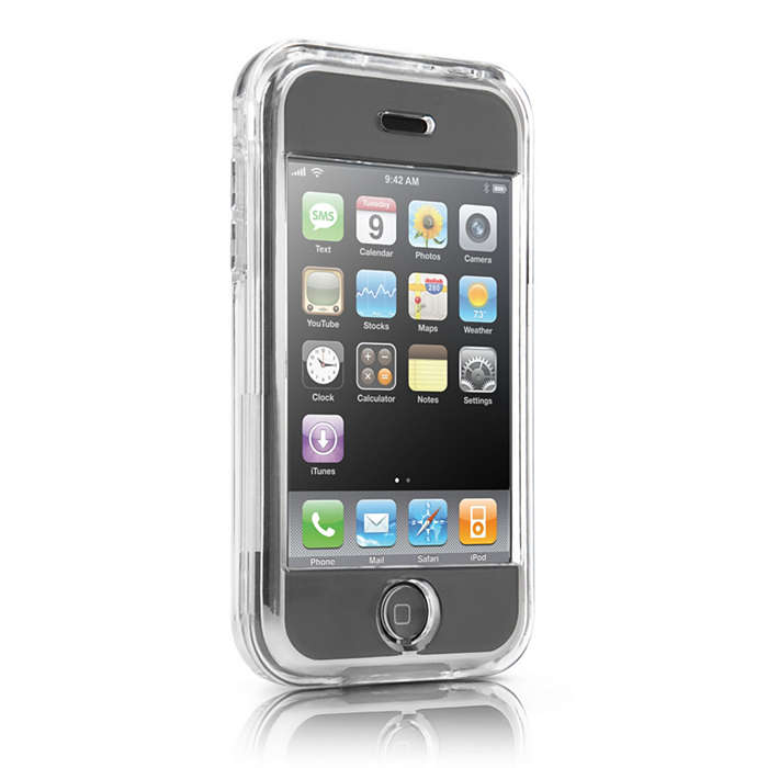 Protege tu iPhone en una funda transparente