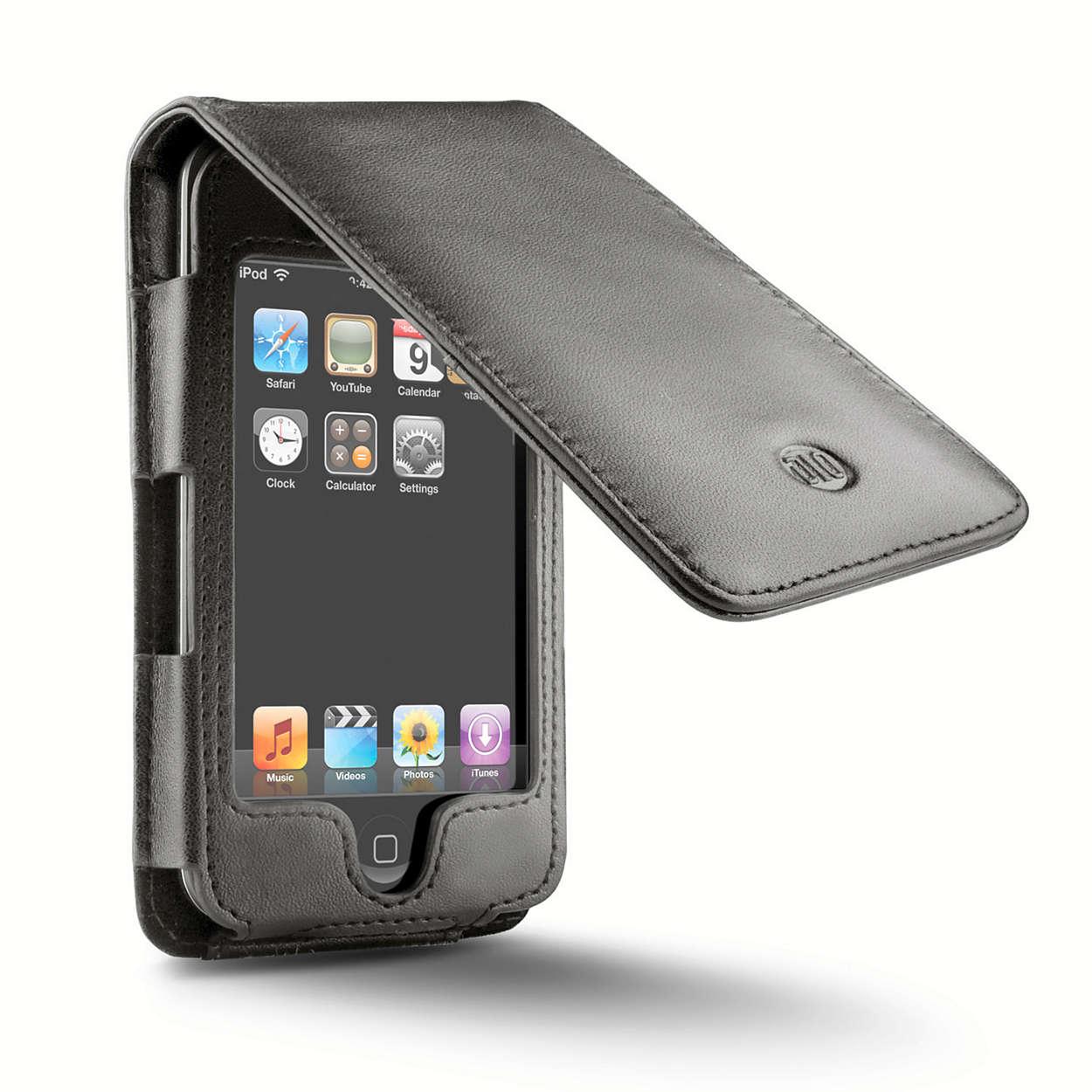 Trasporta il tuo iPod con eleganza