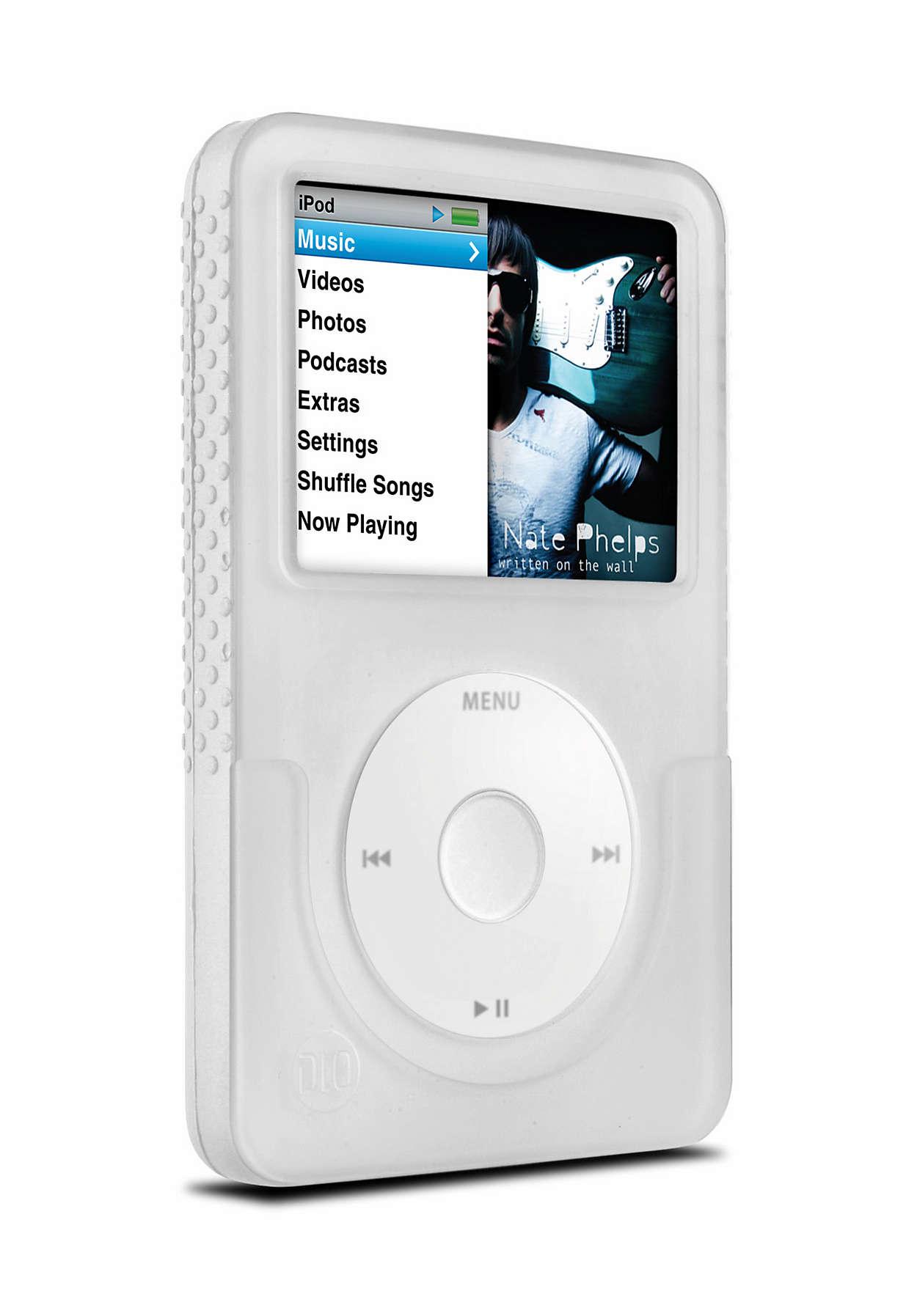 Stílusos védelem iPod készülékének