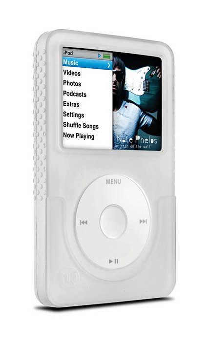 Stilig beskyttelse for iPoden