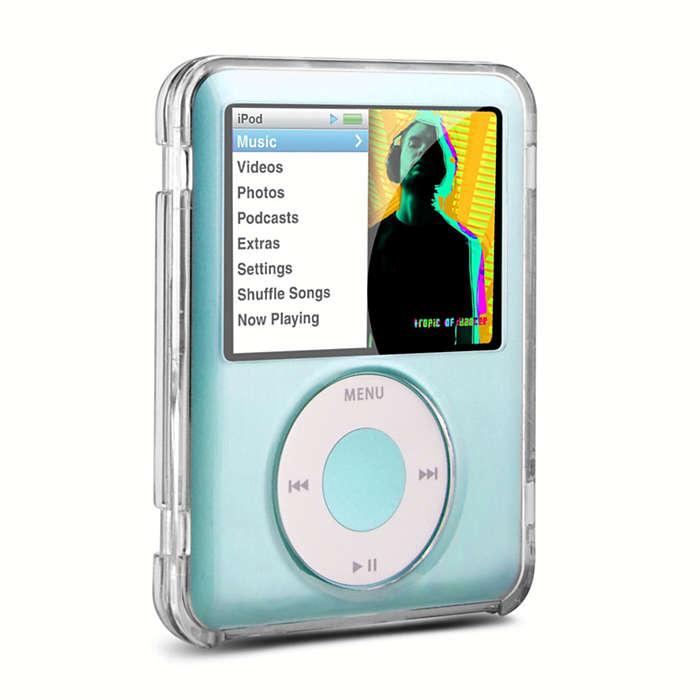 Védje iPod-ját áttetsző tokban