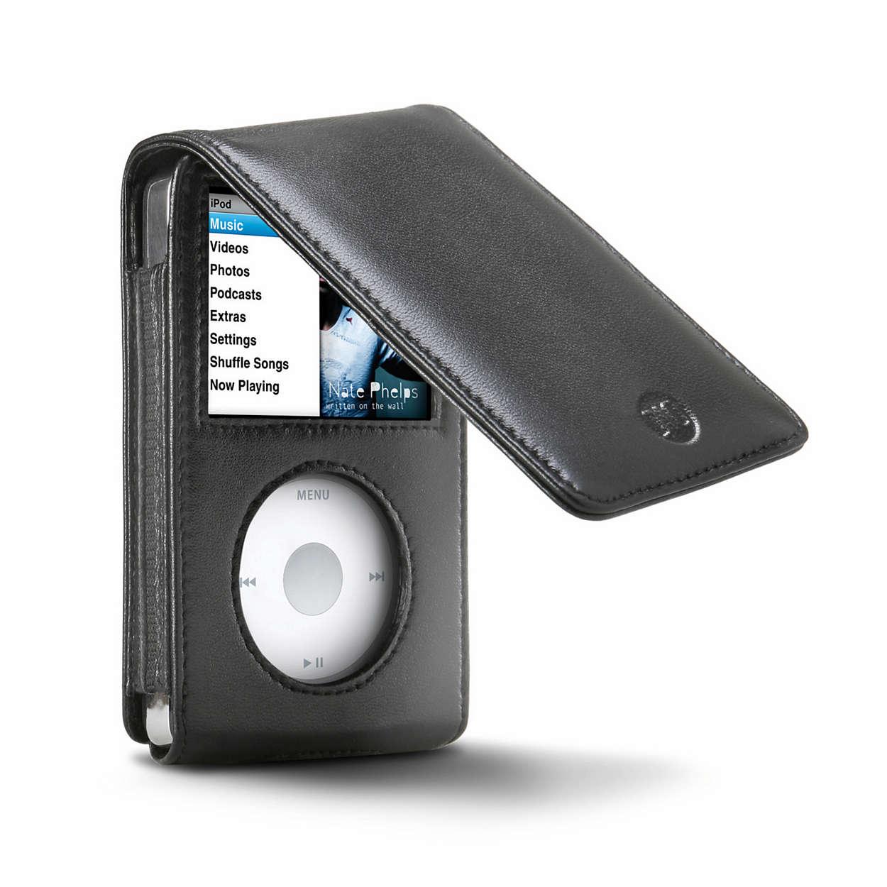 Lleva tu iPod con estilo