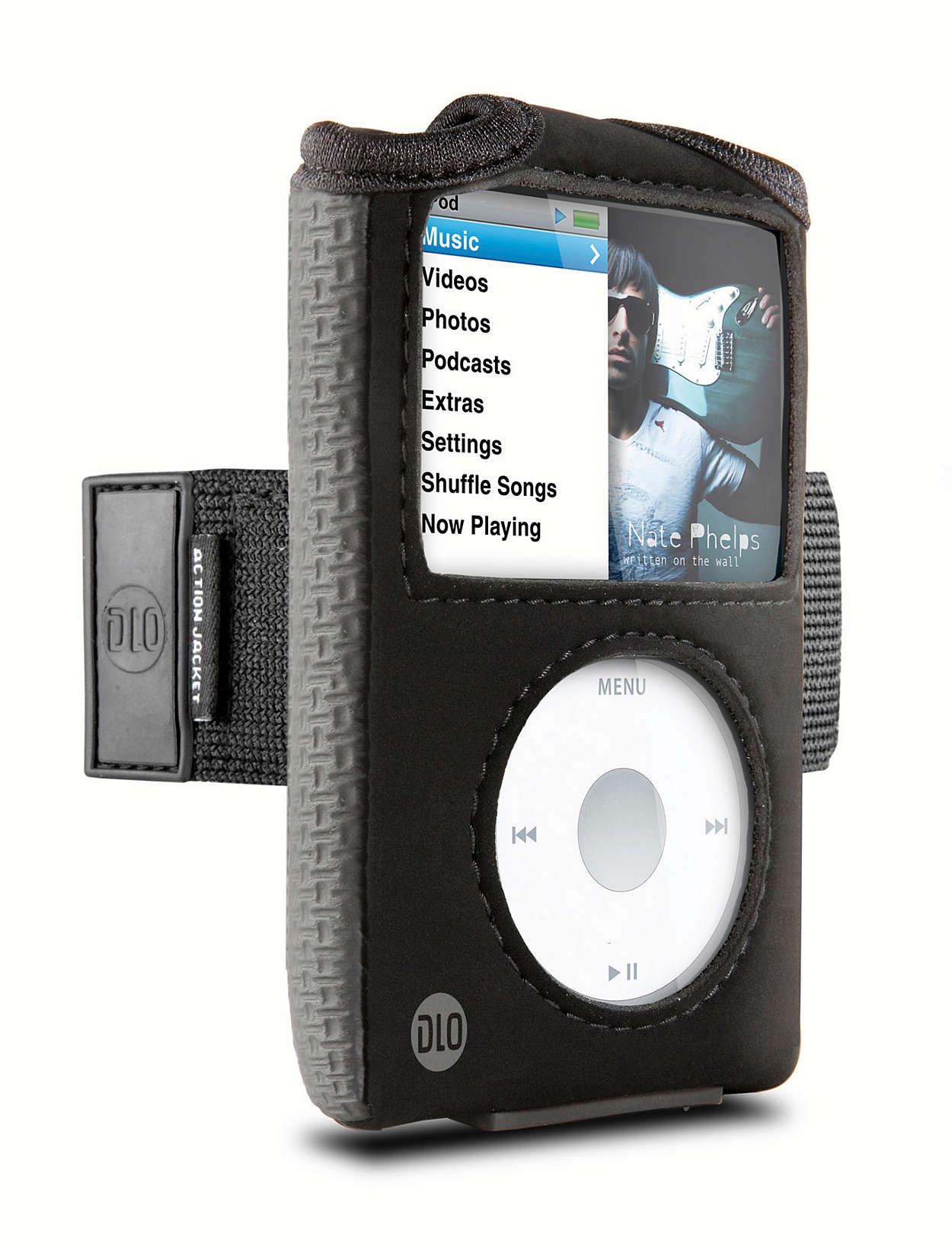 Treenaa iPodin kanssa
