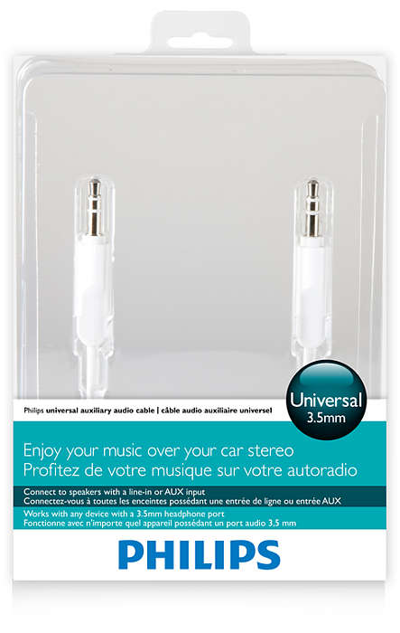 Auxiliary audio cable DLC2401/10 | Philips