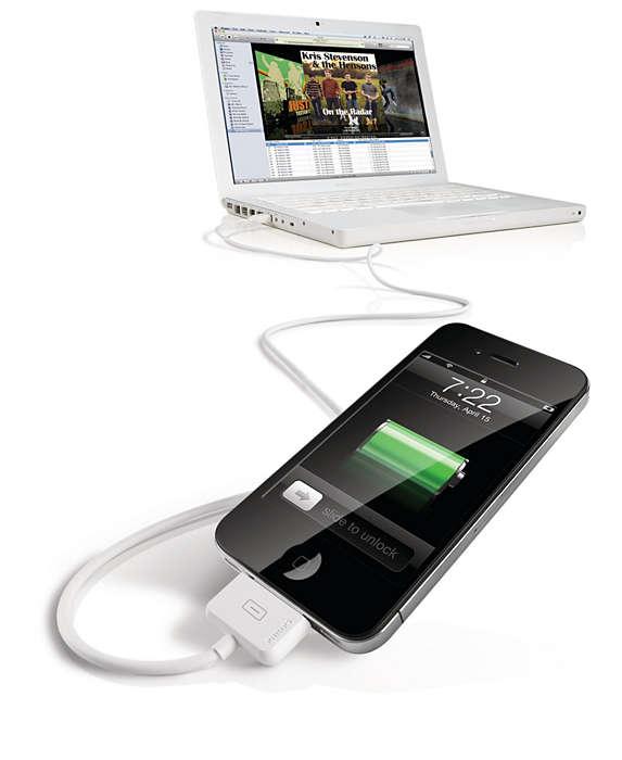 Koble til datamaskinen via USB