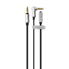 DLC2412BK/10  Cable manos libres de 3,5mm