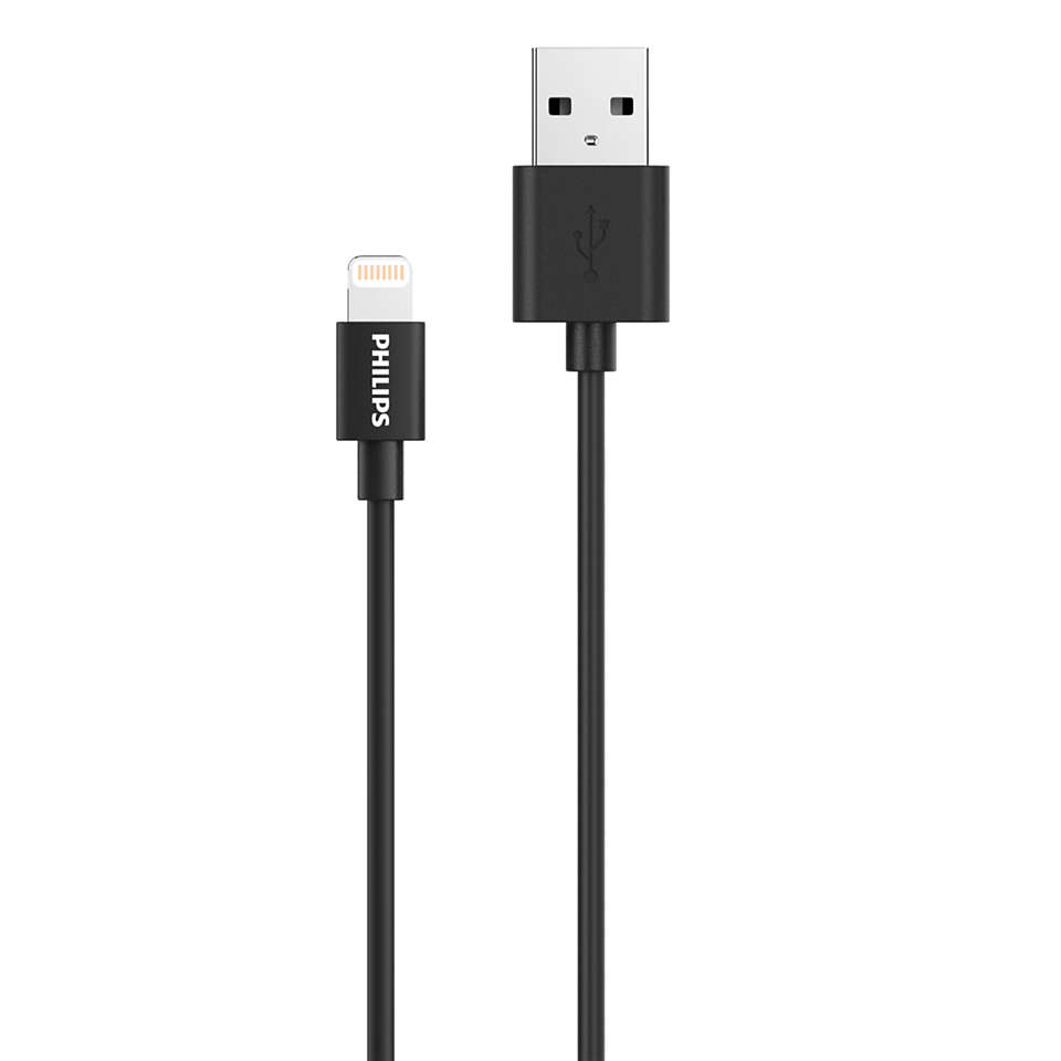 USB-A-naar-Lightning-kabel